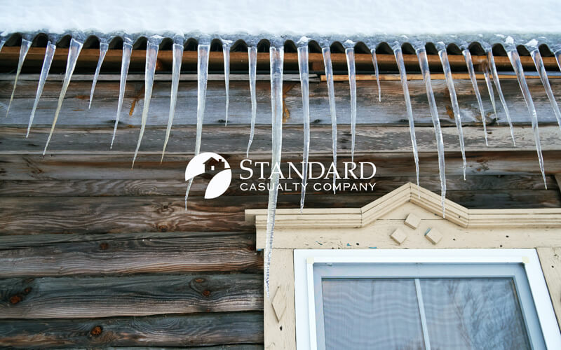 Standard Casualty Company is there for you when freezing temps cause unexpected damage to your home.
