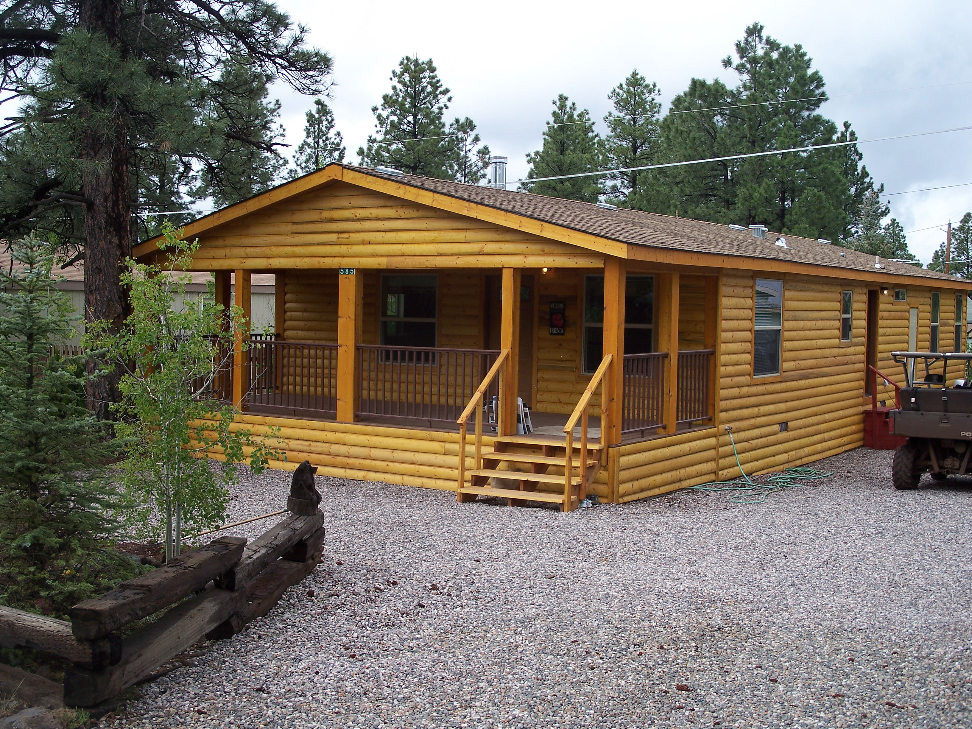 Standard Casualty Company Will Insure Your Log Home